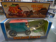 Plastic Boxed Timpo copy of the Clay County Jail Wagon