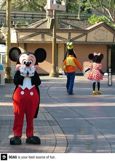 Scandal in Disneyland-too funny