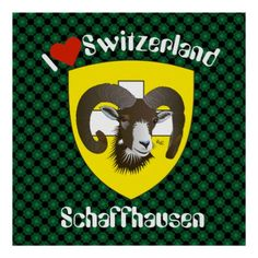Schaffhausen - Schweiz - Suisse - Svizzera Poster