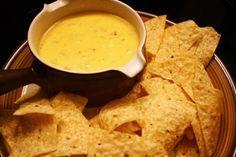 Easy Nacho Cheese Dip.