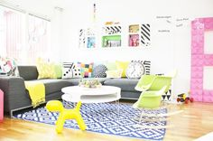 Estilo Simplichique #37: Casa colorida na Suécia
