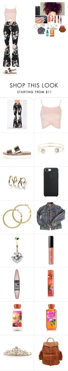 """""""~ it's my birthday ~"""" by foodislyfe ❤ liked on Polyvore featuring Topshop, Wanted, Sole Society, Melissa Odabash, Levi's, Bobbi Brown Cosmetics, Maybelline, BillyTheTree and Grafea"""
