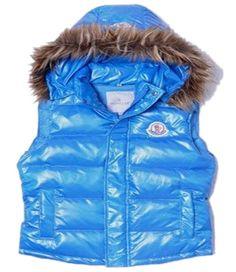 Soldes Moncler Gilet Chapeau Col De Fourrure Bleu Clair Pas Cher Spring  Jackets, Winter Jackets a34c60b03aa