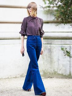 Which Fall Shoes Look Best With Which Types of Jeans via @WhoWhatWearUK