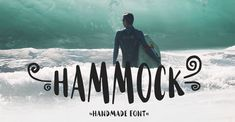Hammock is a FREE handmade font, which comes in handy for everyone who would like to design the packaging or logo of a product, or just any design in a fresh and nice self-made look. The font embodies the passion for travelling, surfing, nature, and every…