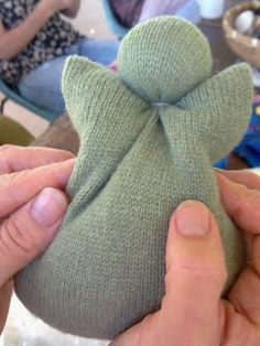 Rhythm & Rhyme: Wednesday Craft Group - baby's first doll tutorial