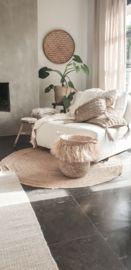 Raffia hoge mand | BALI PRODUCTEN EIGEN IMPORT | www.landelijkenstoerrr.nl Decor, Furniture, Home, Entryway Bench, Entryway, Home Decor
