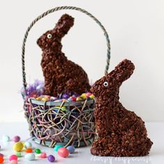 Cocoa Krispies Easter Bunny Treats - http://www.hungryhappenings.com/2014/04/cocoa-krispies-easter-bunny-treats.html