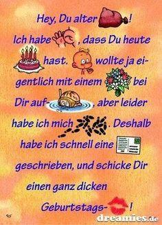 Spektakulär GBPics - Fotos un. Birthday Greetings, Birthday Wishes, Birthday Cards, Happy Birthday, Feeling Pictures, Happy B Day, Word Pictures, Disney Tattoos, Special Day