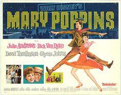 Mary Poppins es una película musical de fantasía, dirigida por Robert Stevenson, producida por Walt Disney y con canciones escritas por l...
