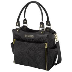 Petunia Pickle Bottom Diaper Bag City Carryall Embossed Central Park North Stop Special Edition
