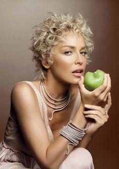 Sharon Stone for Damiani / Шарон Стоун в рекламе Дамиани