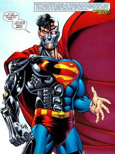 Character Spotlight: The Cyborg Superman Superman Hulk, Superman Story, Superman Movies, Superman Family, Batman, Superman Characters, Superman Artwork, Superman Logo, Dc Comic Books