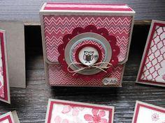 Kreativ am Deich : Anleitungen Kartenbox für Karten 7,5 cm