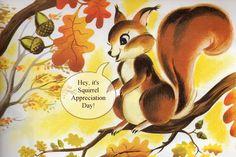 Always Crave Cute: Appreciation for Garden Friends January 21 - Squirrel Appreciation Day
