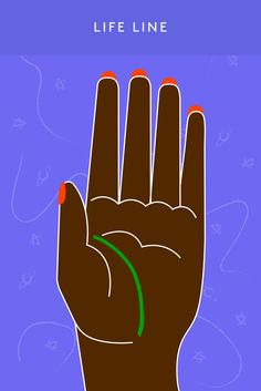 A Beginners Guide To Reading Palms #refinery29 http://www.refinery29.com/palm-reading-guide-hand-lines-meaning#slide-1