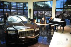 Park Avenue Pianos Treated VIP's To A Private Concert At The Rolls Royce Wraith Launch Event. | MetroCitizen Magazine.