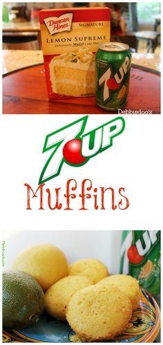 7 up lemon muffins