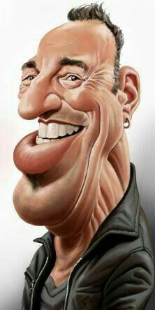 """The Boss"" Bruce Springsteen"