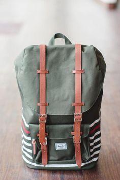 b2f17ce22d58 Herschel Lil America Backpack  Offset Forest