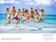 EL MEJOR ALL INCLUSIVE AL CARIBE. Desde hace varios años, las playas de República Dominicana se han convertido en el destino preferido tanto de turistas como de celebridades. Su cálido clima y ambiente relajado, brindan el ambiente perfecto para olvidarse de la rutina. En Booking Hello, ponemos a tu alcance nuestros packs all inclusive con las mejores tarifas del mercado, para que invites a tus amigos a planear juntos una gran aventura. Conoce todos los detalles en nuestra página en internet…
