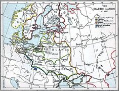 Baltic Lands, 1617 A.D. Edited by J.B. Bury, Longmans Green and Co. Third Edition 1903 Environmental Management, General Reference, Visualization.