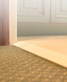Problem Solver: High Tile Meets Short Carpet Tile Needs To Be Installed  Over A Solid