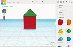 First Graders Learning 3D Design with Tinkercad