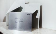 Fashion week A/W 2013 invitations: menswear - FENDI