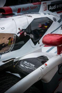 Audi Hybrid Le Mans racer.