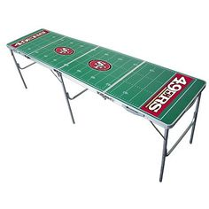 San Francisco 49ers Tailgate Table