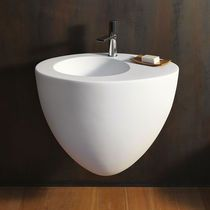 Wall hung washbasin colored Talco - Bath Wash basin: installation wall hung x 56 x Sanitary ware collection Le Giare design Claudio Silvestrin for Ceramica Cielo Lavabo Design, Basin, Home Furnishings, Toilet, Furniture Design, Bathtub, Interior, Modern, Cheryl