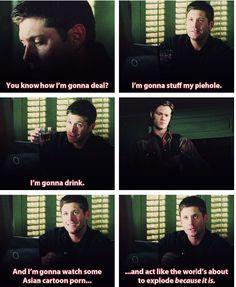 7x01, Meet The New Boss #Supernatural Jensen Ackles. Jared Padalecki. #Winchesters #SPN