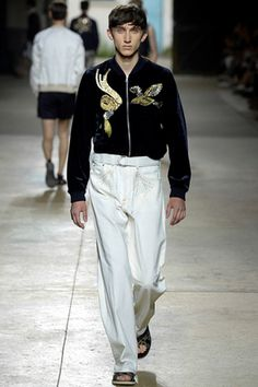 Dries Van Noten Spring 2016 Menswear Fashion Show: Complete Collection - Style.com