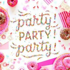 What sort of party would you like to have?