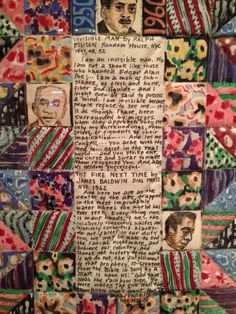 Faith Ringgold | Ralph Ellison tribute quilt