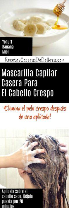 Mascarilla Capilar Casera Para el Cabello Crespo