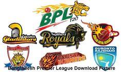 Bangladesh Premier League Fixture Schedule download here.Bangladesh Premier League BPL is a Bangladesh Domestic Tournaments almost similar to IPL.