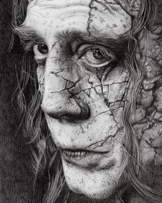 Salazar. #portrait #pencildrawing #grayscale #movie #piratesofthecaribbean #deadmentellnotales #realism #undead