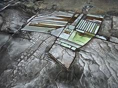 Colorado River Delta #8, Salinas, Baja, Mexico, 2012, Edward Burtynsky's aerial photograph