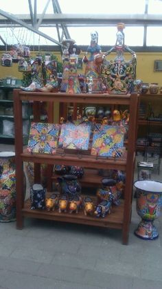 Great new selection of Talavera now available at Santa Fe Greenhouses!