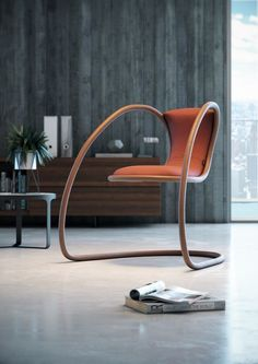 Reposted from Timeless Cantilever Chair by Andrea Citton for Luxy. Metal Furniture, Furniture Decor, Modern Furniture, Furniture Design, Furniture Online, Window Furniture, Furniture Outlet, Luxury Furniture, Modern Home Design