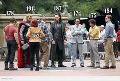 Height of the avengers - it kinda funny that thors taller than a frost giant