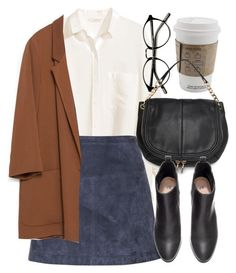"""""""Untitled #4512"""" by laurenmboot ❤ liked on Polyvore featuring H&M, Burberry, M..."""