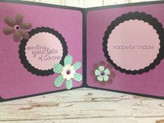Inside of Sugar Skull Birthday Shaker Card by Greeting Grub Cards