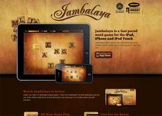 30 Beautiful iOS App Website Designs for Inspiration Webby Awards, Website Design Inspiration, Word Games, Showcase Design, Interface Design, Design Reference, Ios App, App Design, Creative Design