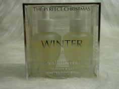 Bath & Body Works Slatkin & Co. The Perfect Christmas Winter Wallflower Home Fragrance Refills by Bath & Body Works. $24.99. Spread true-to-life fragrance and lasting freshness into any room!. Contains: 2 Home Fragrance Bulbs (0.8 fl oz/24 ml per bulb). Discontinued Scent - Rare and Hard to Find. Scent any room 24/7 with Noticeable Freshness for weeks and weeks (Diffuser sold separately). Created by world-renowned home fragrance expert, Harry Slatkin. One Box of Two...