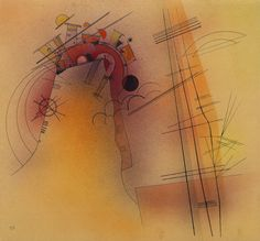 Vasily Kandinsky / Aglow / November 1928 / watercolor, ink, and graphite on paper