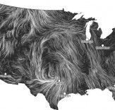 Kinetic Map Shows Real Time Wind Speeds In The Us During Hurricane Sandy
