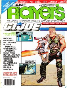 Video Game Magazines, Computer Video Games, Name Games, Striders, Sega Genesis, Entertainment System, Nintendo Games, The Magicians, Gaming